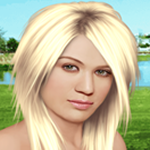 Play kelly true make up html5 game